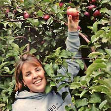 Pick your own apples at Masker Orchards